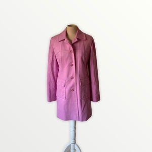 Anne Taylor loft lavender colored wool coat